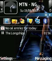 Ninja Mobile Theme