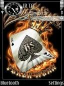 Animated Poker Ace Mobile Theme