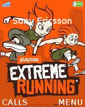 Playman Extreme Running Theme Mobile Theme