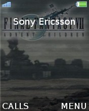 Final Fantasy Advent Chikdren Mobile Theme