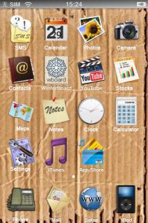 I Card Board Mobile Theme