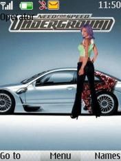 Nfs Underground S40 Theme Mobile Theme