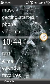 Call Of Duty Htc Theme Mobile Theme
