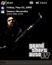 Gta Grand Thelf Auto IV Htc Theme Mobile Theme
