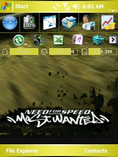 Most Wanted Htc Theme Mobile Theme