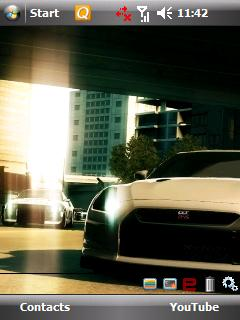 NFS Undercover Htc Theme Mobile Theme