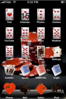 Poker Cards Theme Mobile Theme