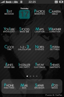 The Cure Theme Mobile Theme