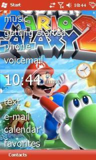 Super Mario Galaxy Theme Mobile Theme
