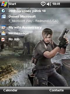 Resident Evil Htc Theme Mobile Theme