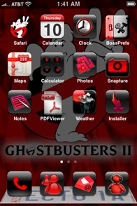 Ghost Busters Mobile Theme