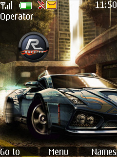Nfs With Tone Mobile Theme