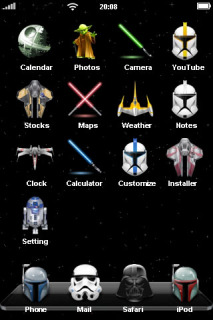 Star Wars Theme Mobile Theme