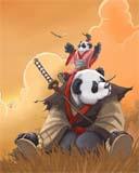 Dota Panda Mobile Theme