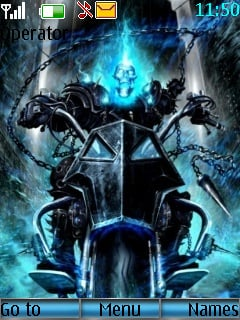 Ghost Rider Mobile Theme