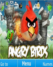 Angry Bird Mobile Theme