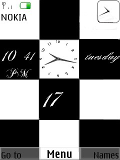Chess Clock  Mobile Theme