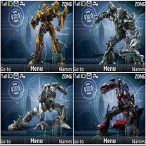 Transformers3  Mobile Theme