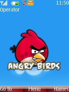 Angry Birds Hd Mobile Theme