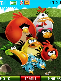 Angry Birds Family Mobile Theme