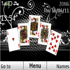 Poker Cards Mobile Theme