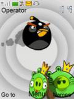 Angry Birds Mobile Theme