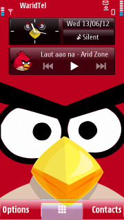 Angry Birds Mobile Theme