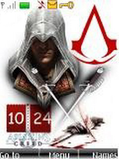 Assassins Creed Clock Mobile Theme