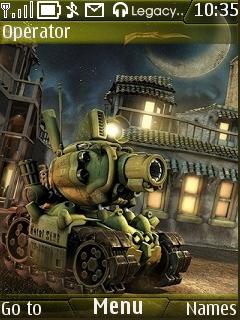 Metal Slug Mobile Theme