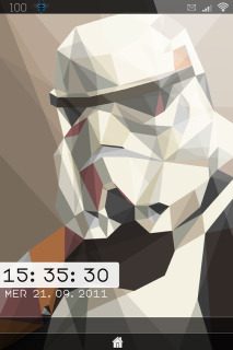 LS Stormtrooper IPhone Theme Mobile Theme