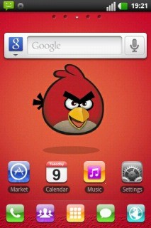 Happy Angry Birds For Android Theme Mobile Theme