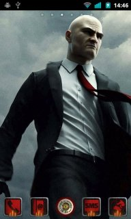 Hitman For Android Theme Mobile Theme