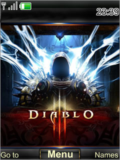 Diablo Fighter S40 Theme Mobile Theme