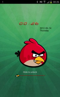 Angry Birds Green Time Android Theme  Mobile Theme