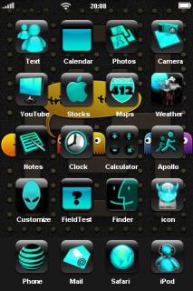 Pacman Halloween IPhone Theme Mobile Theme