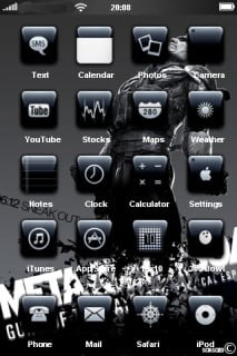 Metal Gear Solid Apple IPhone Theme Mobile Theme