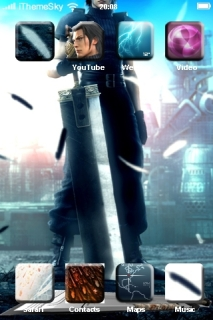 Crysis Core Fighter IPhone Theme Mobile Theme