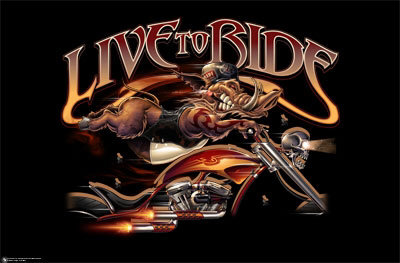 Live To Ride Mobile Theme