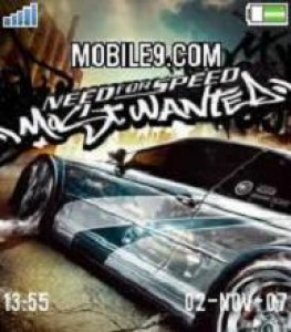 Need For Speed Most Wanted Mobile Theme