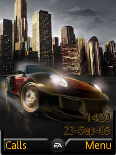 NFS Undercover Mobile Theme