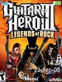 Guitar Hero 3 Mobile Theme
