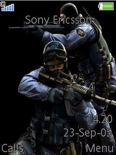 Counter Strike Mobile Theme