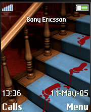 Trail Of Blood Theme Mobile Theme