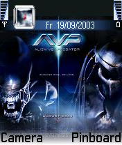 Alien Vs Predator Mobile Theme