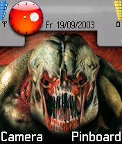 DOOM III Monster Mobile Theme