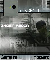 Ghost Recon Theme Mobile Theme