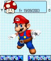 Mario Theme Mobile Theme