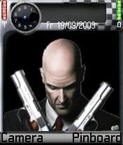 Real Hitman Theme Mobile Theme
