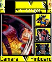 Wolverine 2 Mobile Theme
