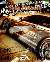 Nfs Most Wanted Sony Ericsson Theme Mobile Theme